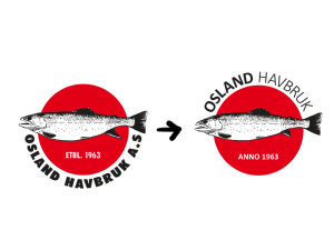 Osland samanlikn logo