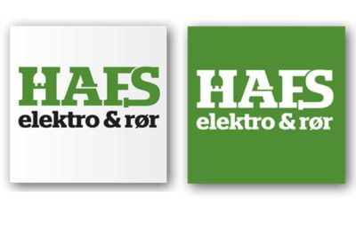 Logo: HAFS Elektro & Rør