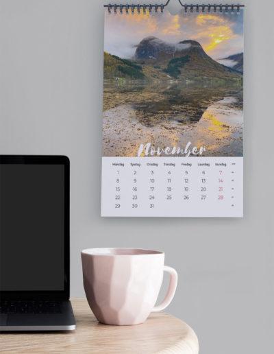 Fjordkalender november