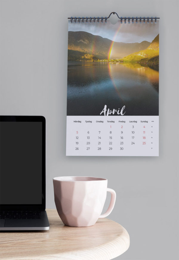 Fjordkalender april