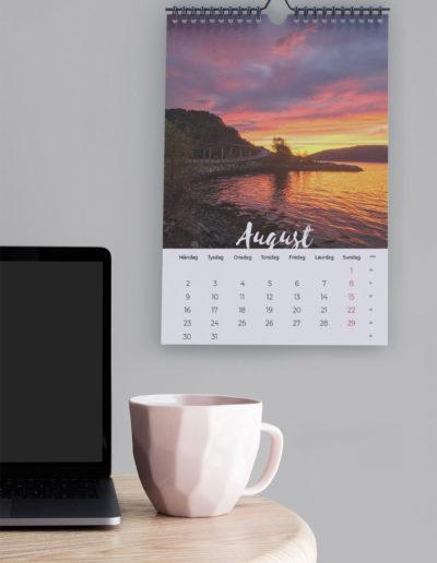 Fjordkalender august